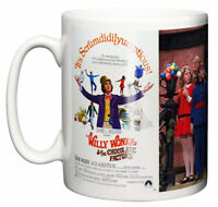 Movie Musical Mug, Willy Wonka & The Chocolate Factory 1971 Poster & Scene Gift
