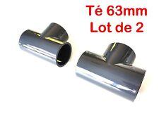Lot de 5 Manchons /ø 63 mm int/érieur PVC pression PN16