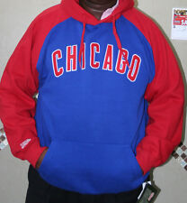"NEW MLB CHICAGO CUBS  MENS  X  LARGE ""XL"" HOODIE JACKET by STITCHES SWEATSHIRT"
