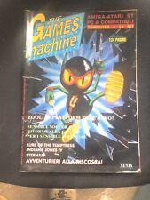 THE GAMES MACHINE 44  Luglio 1992 no zzap SENSIBLE SOCCER INDIANA JONES ZOOL