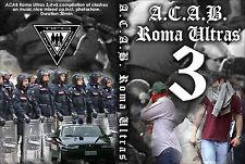 DVD ACAB ROMA  VOLUME 3  (AS ROMA,ULTRAS,HOOLIGANS,1312,amf,CURVA SUD,SCONTRI)