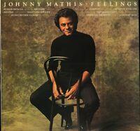 JOHNNY MATHIS feelings 69180 uk cbs LP PS EX/VG+