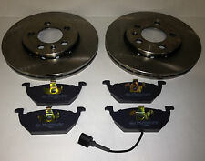 SEAT LEON 1.4 1.6 FRONT BRAKE DISCS AND PADS 2000-2005