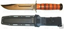 Ka-Bar KaBar Full-Size USMC Plain Edge w/ Plastic Sheath 5017