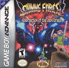 Shining Force: Resurrection of the Dark Dragon (Nintendo Game Boy Advance, 2004)