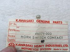 KAWASAKI NOS NEW Z1 Z1B 900 ZED HORN SWITCH CONTACT 1973-75 # 46079-003 OM10