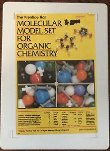 Prentice Hall Molecular Model Set For Organic Chemistry by Molymod