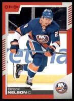 2020-21 UD O-Pee-Chee Red Border #315 Brock Nelson - New York Islanders