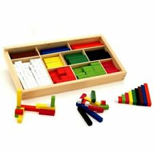 Viga Wooden Cuisenaire Rod Set - 56166