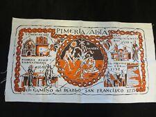 Harwood Steiger fabric panel Pimera Alta El Camino del Diablo San Francisco