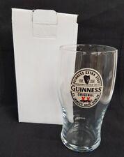 New - Guinness - Pint Glass - Home Bar - Pub - Mancave