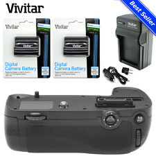 MB-D16 Battery Grip for Nikon D7200 7100 DSLR + 2x EN-EL15 Battery + Charger Kit