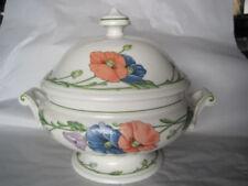 Zeitgenössische Keramiken mit Blumen-Herkunft