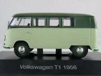 DeAGOSTINI #03 VW T1 Bus (1956) in hellgrün/dunkelmaigrün 1:43 NEU/PC-Vitrine