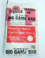 "VTG BIG BUCK Famous ""88"" Big Game Bag 84"" Open Tube Hunting Sealed New NOS"