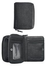 Nixon Bayside Bi-Fold Zip Wallet (Black)