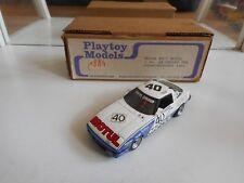 Handbuilt Model Playtoy Mazda RX7 Motul 1st 24 hr Spa 1981 - White on 1:43 - Box