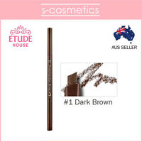 [ETUDE HOUSE] Drawing Eye Brow (#1 Dark Brown) - Eyebrow Pencil