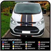 Adesivi per Ford TRANSIT Custom Turneo BICOLORE grafiche furgone strisce custom
