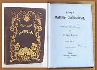 Döring Britische Anthologie 1858 Balladen in Englisch & Deutsch Lyrik Dichtkunst