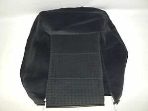 New OEM 1998-2001 Volkswagen VW Passat Front Seat Backrest Cover Black Cloth