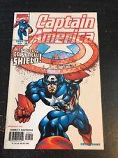 """Captain America#9 Incredible Condition 9.0(1998)""""New Shield"""" Rhino, Kubert Art!!"""