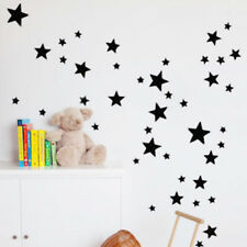 110Pcs Multi-sized Star Wall Stickers Baby Room Decals Art Bedroom Vinyl Decor