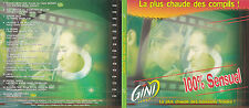 CD DIGIPACK 15T GAINSBOURG/BOB MARLEY/ALABINA/MOUSSE T.