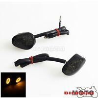 Turn Signal Indicator Light Lamp Flush Mount LED Smoke For Yamaha YZF R1 R6 R6S