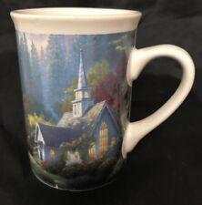 Thomas Kinkade Church Creek Coffee Mug 12oz 2005 Designpac Cute