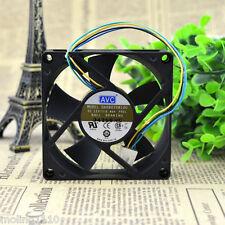 AVC DA08020B12U Computer Case Cooling Fan/Gehäuse-Lüfter 80x80x20mm 4-Wire 4-Pin