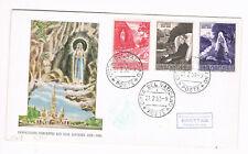 VATIKAN FDC 1953 Immaculata Conceptio Ego Sum Lourdes   (G9/9)