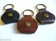 Leather Keyring Plectrum Holder Key Ring Pick Holder UK