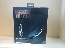 Mental Beats Unleashed Bluetooth Stereo Headset Blue Black Silver