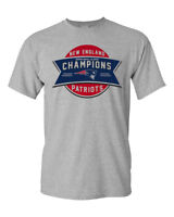 Super Bowl 53 Champions New England Patriots Custom Men's T-Shirt Football Tee