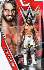 WWE WRESTLING FIGURE MATTEL SETH ROLLINS WITH BONUS SLAMMY AWARD MOC BOXED NEW
