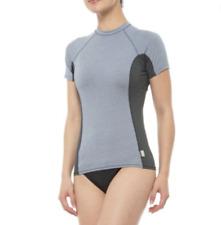 O'Neil Women's Blue Short Sleeve Rash Guard Ultraviolet Protection Shirt XS NEW
