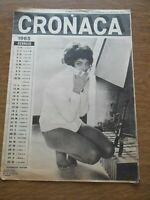 Calendario 1965 - con R. Dexter, Elke Sommer, Monica Ambs, V. Bach, Sandrelli ..