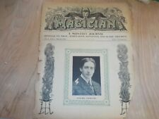 Howard Thurston 1906 Magician Monthly Goldston Magazine
