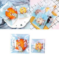 Self-Adhesive Easter Rabbit Biscuit Package Rabbit Candy Bag Cookie Bags