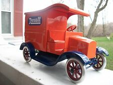 Pressed Steel Cowdery Toyworks Rexall Delivery Van No. 18 Of 24