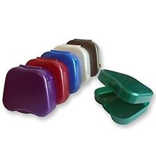 72 x Retainer Case ~ Bulk Buy, Braces, Gum shield, Mouthguard Dental Storage Box