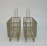 "Lot of 2 Commercial Deep Fryer Wire Basket 12x5x6"" Kitchen Restaurant"