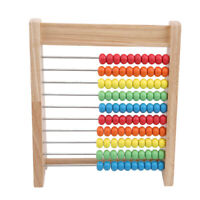 Toy Wooden Kids Abacus Early Education Water Paint Number Study Gift Funny Math