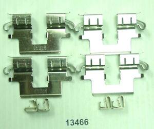 Disc Brake Hardware Kit Rear Better Brake 13466K