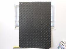 "Plain Rubber 24""x36"" Diamond Plate Mud Flap Set 3/8"""