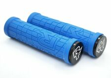 RaceFace Grippler Lock-On Grips, Carbon Friendly and Comfortable, 30mm, Blue