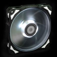 White LED 120mm Chassis DC Fan De-vibration Rubber 60CFM Low noise & Big Airflow