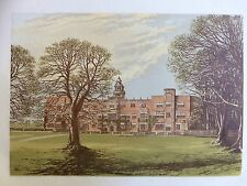 c.1880 Print of Hatfield House, Hertfordshire