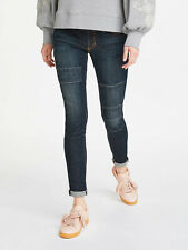 RRP £99 - John Lewis AND/OR Abbot Kinney Patch Skinny Jeans, Rock On, 30 - UK 12
